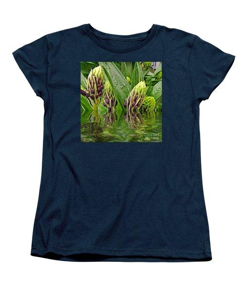 Emerging Women's T-Shirt (Standard Cut) by Debbie Portwood
