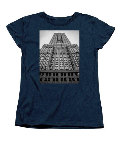 Empire State Of Mind Women's T-Shirt (Standard Cut) by Jonathan Davison