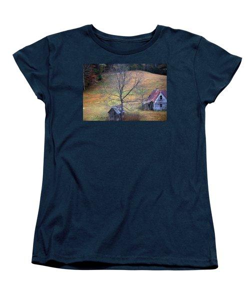Women's T-Shirt (Standard Cut) featuring the photograph Empty Nest by Faith Williams