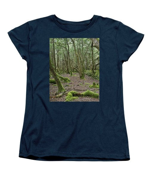 Women's T-Shirt (Standard Cut) featuring the photograph Enchanted Forest by Hugh Smith