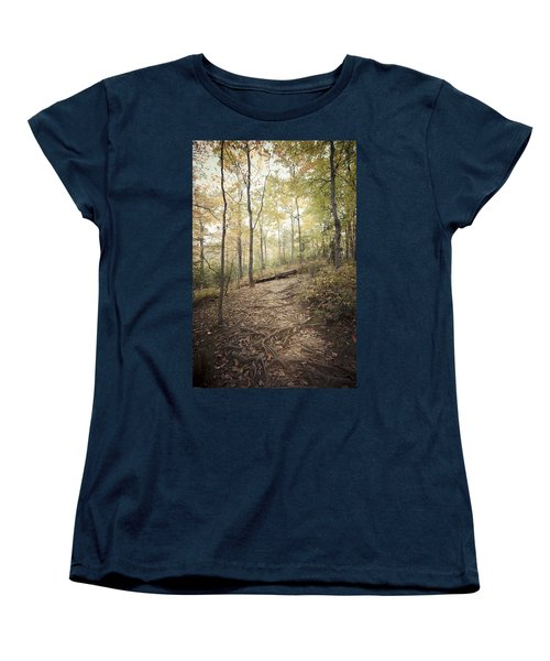Enchanting Forest Women's T-Shirt (Standard Cut) by Debbie Karnes