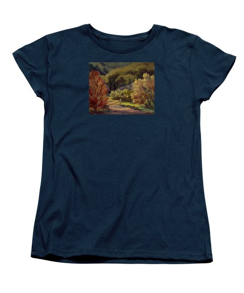 End Of The Road Women's T-Shirt (Standard Cut) by Jane Thorpe