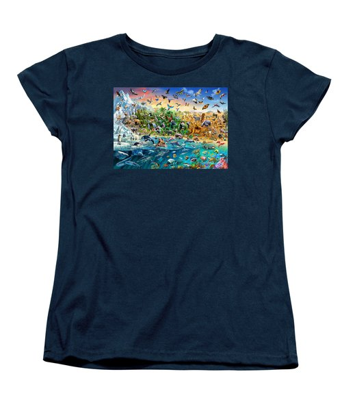 Endangered Species Women's T-Shirt (Standard Cut) by Adrian Chesterman