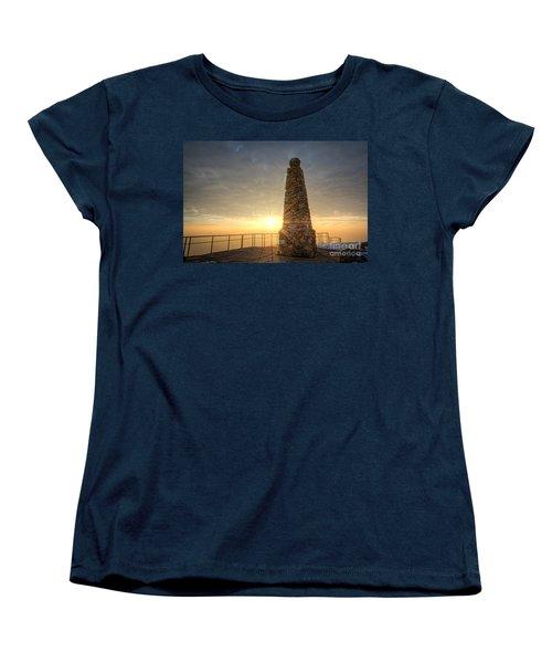 Ensign Peak Nature Park Utah Women's T-Shirt (Standard Cut) by Michael Ver Sprill