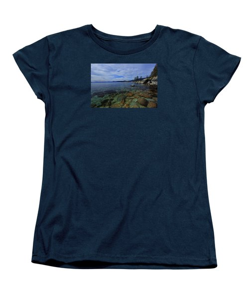 Women's T-Shirt (Standard Cut) featuring the photograph Enter Willingly  by Sean Sarsfield