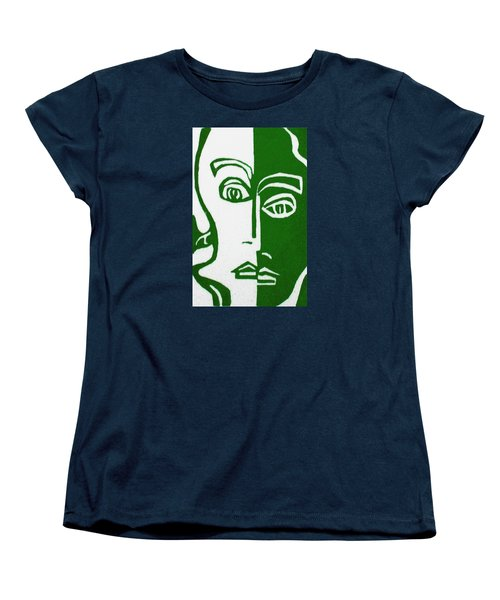 Women's T-Shirt (Standard Cut) featuring the painting Envy by Donna Tucker