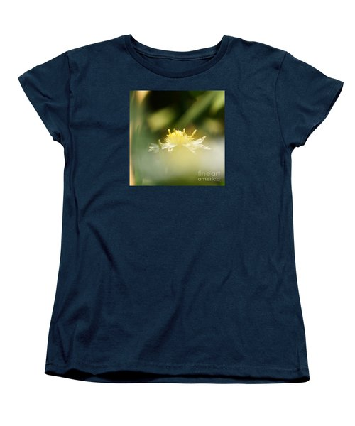 Enwrapped In Misty Shroud Women's T-Shirt (Standard Cut) by Linda Shafer