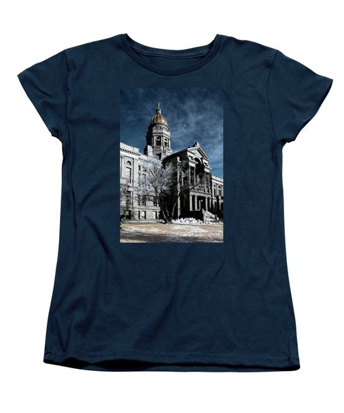 Equality State Dome Women's T-Shirt (Standard Cut) by Greg Collins