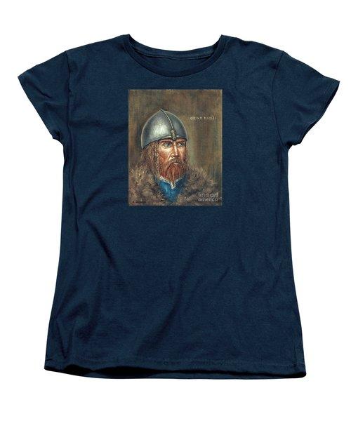 Erick The Red Women's T-Shirt (Standard Cut) by Arturas Slapsys