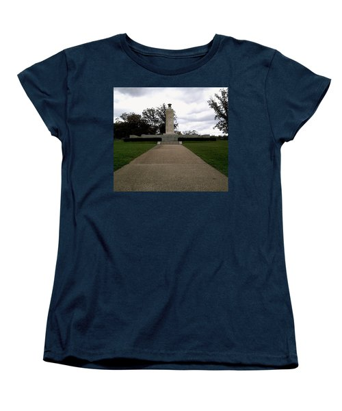 Eternal Light Peace Memorial Women's T-Shirt (Standard Cut) by Amazing Photographs AKA Christian Wilson