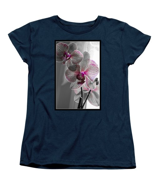 Ethereal Orchid Women's T-Shirt (Standard Cut) by Bianca Nadeau