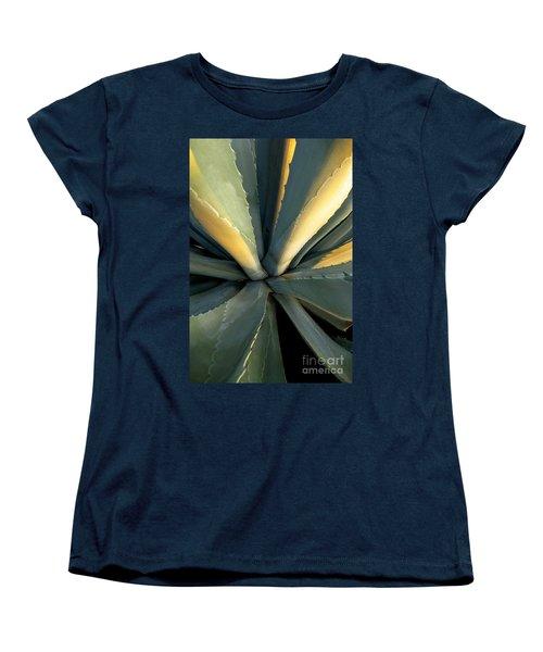 Evening Agave Women's T-Shirt (Standard Cut) by Ellen Cotton