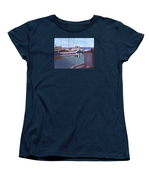Evening On Malaspina Strait Women's T-Shirt (Standard Cut) by Gary Giacomelli