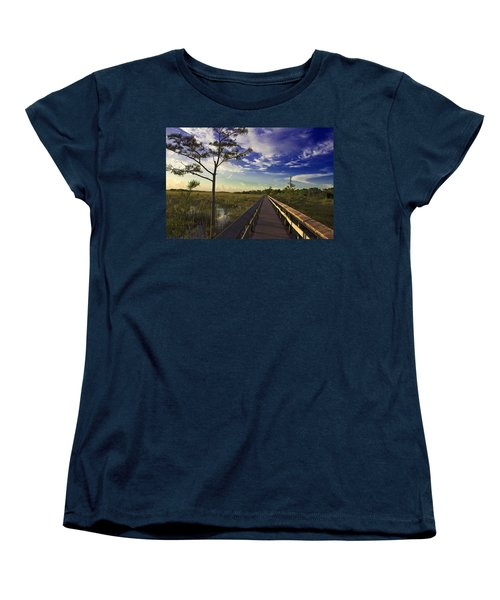 Everglades  Women's T-Shirt (Standard Cut) by Swank Photography