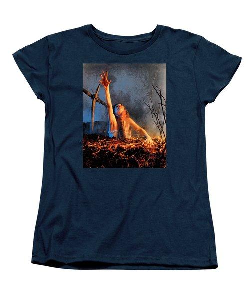 Evil Dead Women's T-Shirt (Standard Cut) by Joe Misrasi