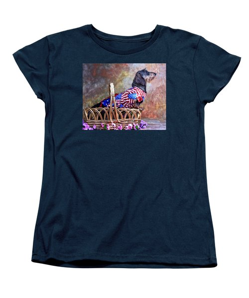 Women's T-Shirt (Standard Cut) featuring the photograph Evita by Jim Thompson