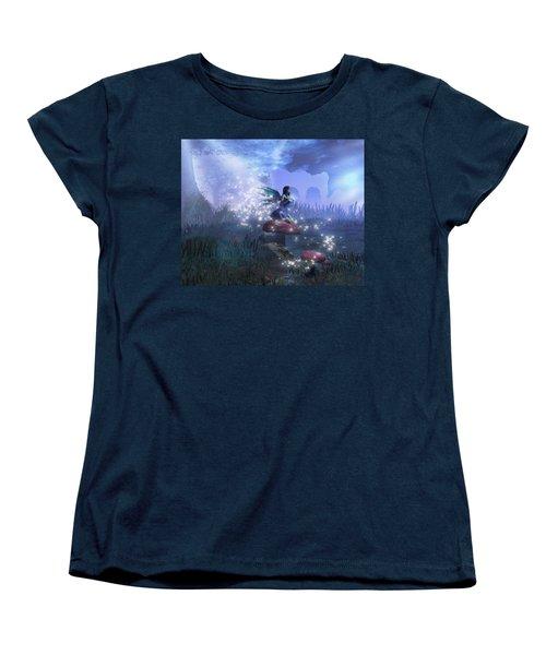Women's T-Shirt (Standard Cut) featuring the digital art Faerie by David Mckinney