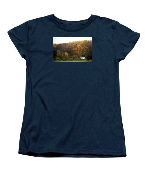 Fall At Valley Forge Women's T-Shirt (Standard Cut) by Skip Willits