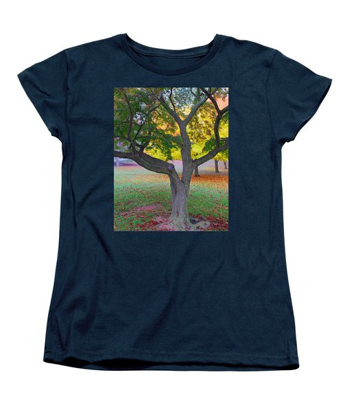Women's T-Shirt (Standard Cut) featuring the photograph Fall Color by Lisa Phillips