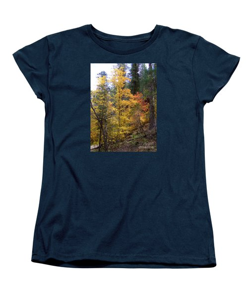 Fall Colors 6368 Women's T-Shirt (Standard Cut) by En-Chuen Soo