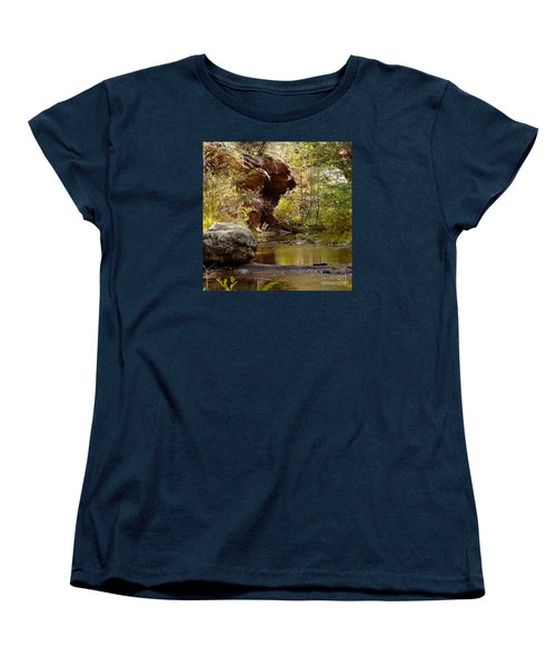 Fall Colors 6472-02 Women's T-Shirt (Standard Cut) by En-Chuen Soo