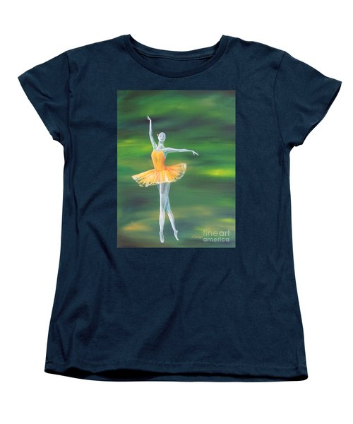 Fall Dancer 3 Women's T-Shirt (Standard Cut) by Laurianna Taylor