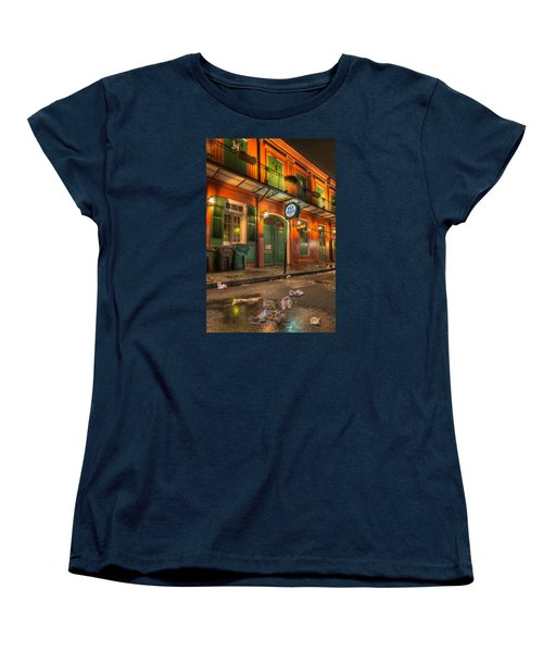 Fall-out From Pat O'briens Women's T-Shirt (Standard Cut) by Tim Stanley