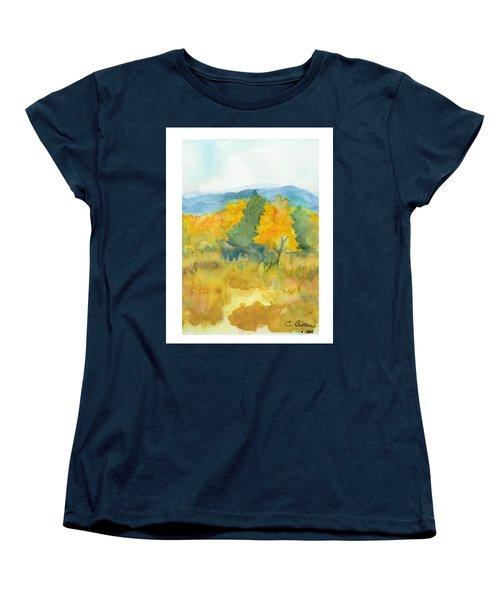 Fall Trees Women's T-Shirt (Standard Cut) by C Sitton