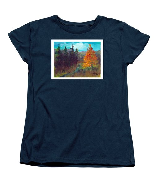 Fall View Women's T-Shirt (Standard Cut) by C Sitton