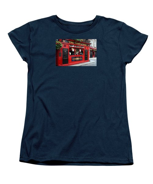 Famous Temple Bar In Dublin Women's T-Shirt (Standard Cut) by IPics Photography