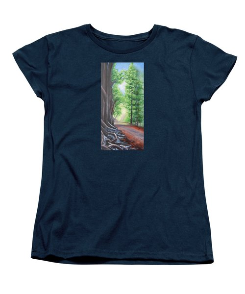 Faraway Women's T-Shirt (Standard Cut) by Jane  See