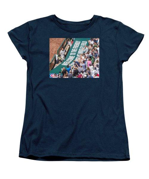 Farewell From The Wrigley Faithful Women's T-Shirt (Standard Cut) by Tom Gort