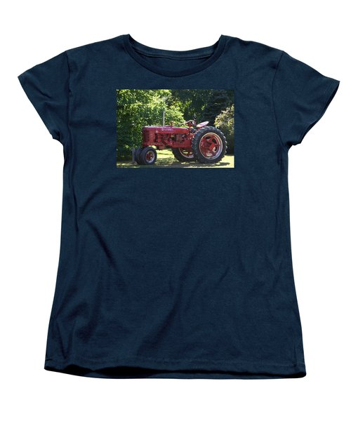 Farmall's End Of Day Women's T-Shirt (Standard Cut) by Denyse Duhaime