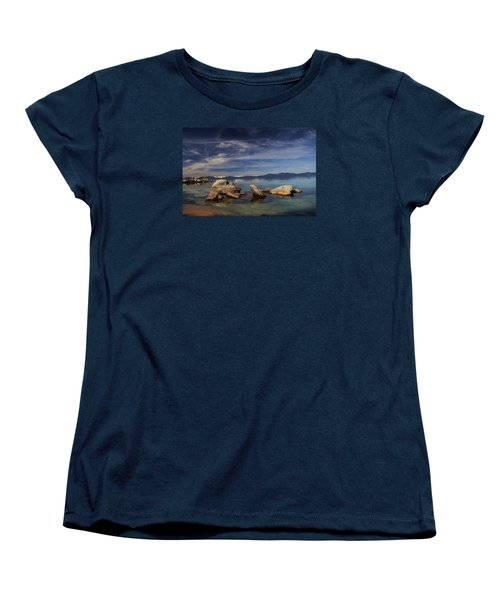 Women's T-Shirt (Standard Cut) featuring the photograph Fatman In A Bathtub by Sean Sarsfield