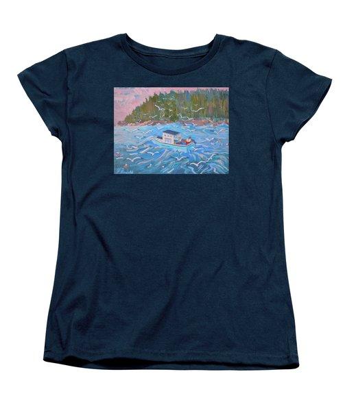 Feeding The Flock Women's T-Shirt (Standard Cut)