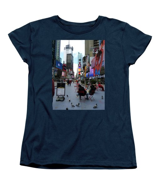 Women's T-Shirt (Standard Cut) featuring the photograph Feeding Time by Jackie Carpenter