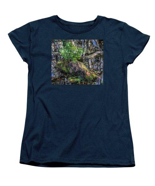 Fern In The Swamp Women's T-Shirt (Standard Cut) by Jane Luxton