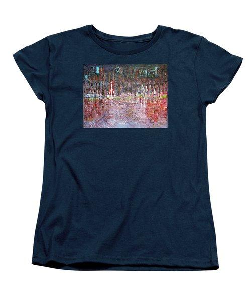 Ferris Wheel Fun - Sold Women's T-Shirt (Standard Cut) by George Riney