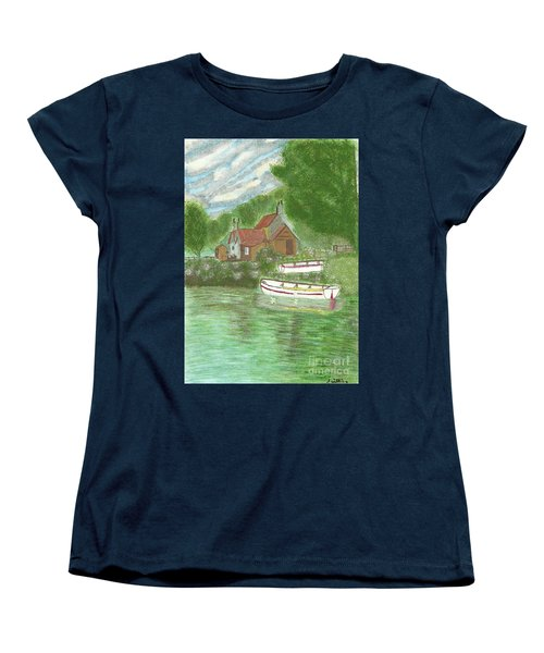 Ferryman's Cottage Women's T-Shirt (Standard Cut) by Tracey Williams