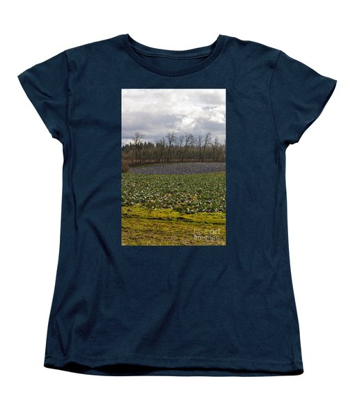 Field Of Color 2 Women's T-Shirt (Standard Cut) by Belinda Greb