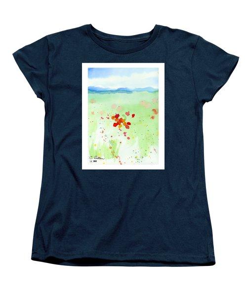Field Of Flowers 2 Women's T-Shirt (Standard Cut) by C Sitton