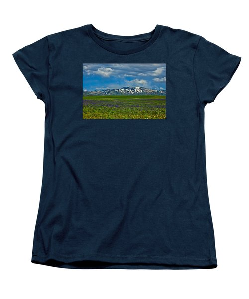 Field Of Wildflowers Women's T-Shirt (Standard Cut)