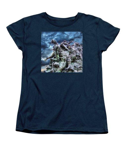 Fight On Women's T-Shirt (Standard Cut) by Dan Stone
