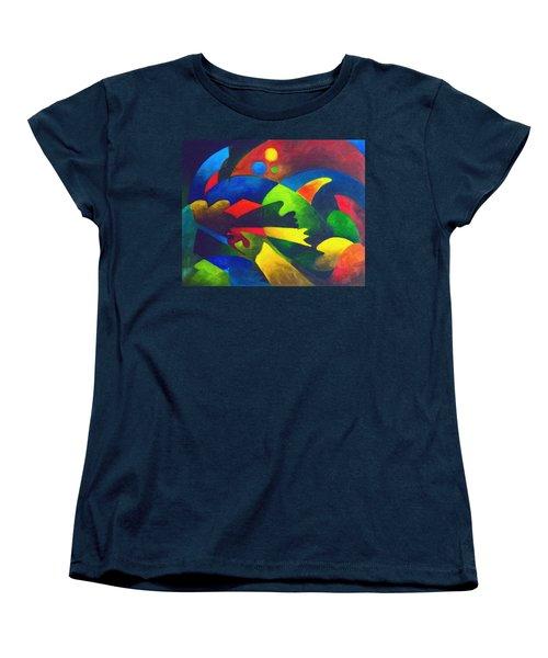 Fins Women's T-Shirt (Standard Cut) by Sally Trace