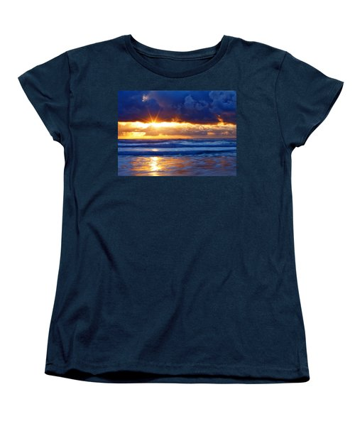 Fire On The Horizon Women's T-Shirt (Standard Cut)