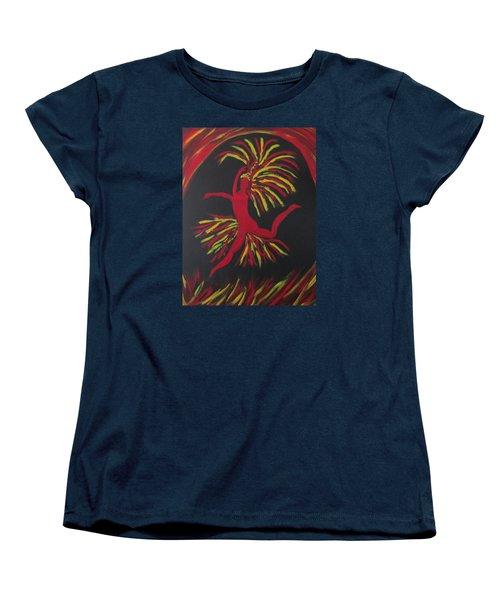 Firebird Women's T-Shirt (Standard Cut) by Sharyn Winters