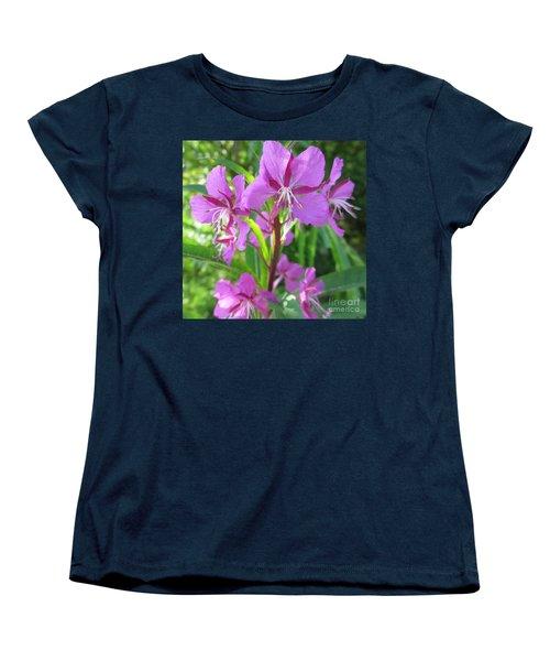 Fireweed 3 Women's T-Shirt (Standard Cut) by Martin Howard