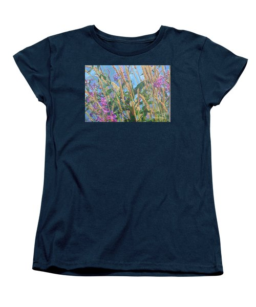 Women's T-Shirt (Standard Cut) featuring the photograph Fireweed Number Six by Brian Boyle
