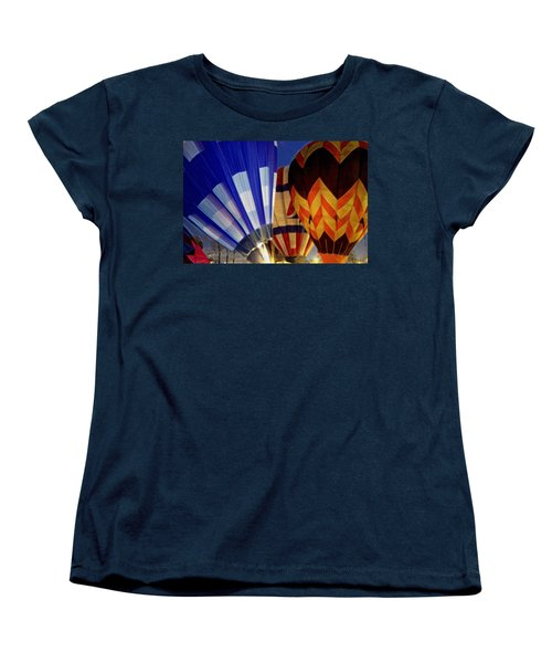Firing Up Women's T-Shirt (Standard Cut) by Kathy Bassett