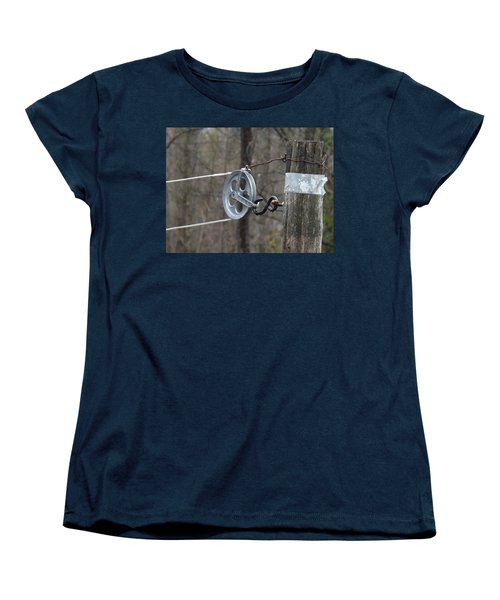 First Automatic Dryer Women's T-Shirt (Standard Cut) by Brenda Brown